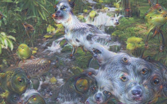 the-majority-of-the-ai-networks-were-trained-with-images-of-animals-one-ai-network-populated-an-image-of-a-waterfall-with-dogs-birds-pigs-and-goats