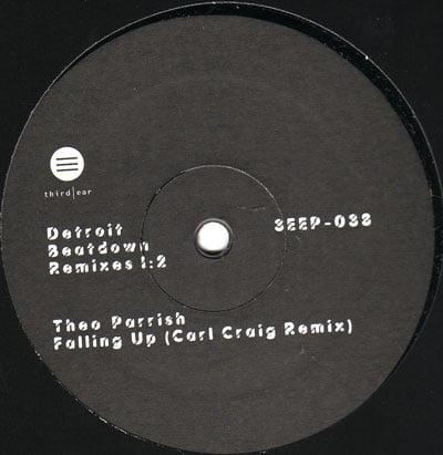 Theo Parrish - Falling Up (Carl Craig Remix) Remasterizadas las Dos Versiones.