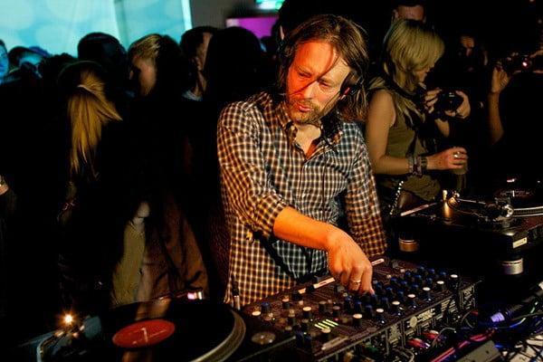 Thom Yorke el cantante de Radiohead & Atoms for Piece bate record mundial