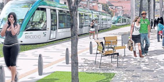 Tranvía de Medellín está que 'pide' vía
