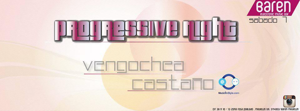 Hoy Sábado Vengoechea & Castaño en Baren Bar (Parque Lleras)