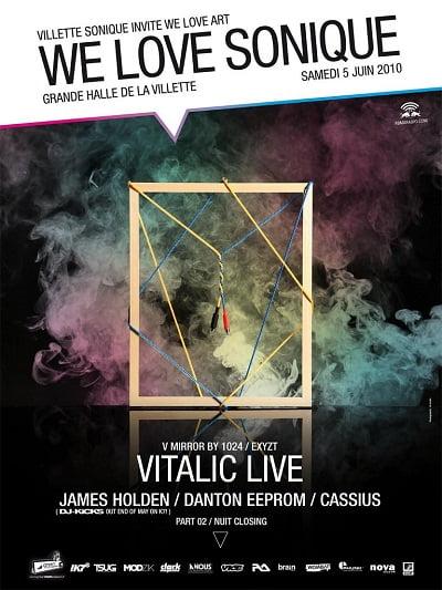 Mp3: James Holden & Vitalic @ We Love Sonique – 05.06.2010