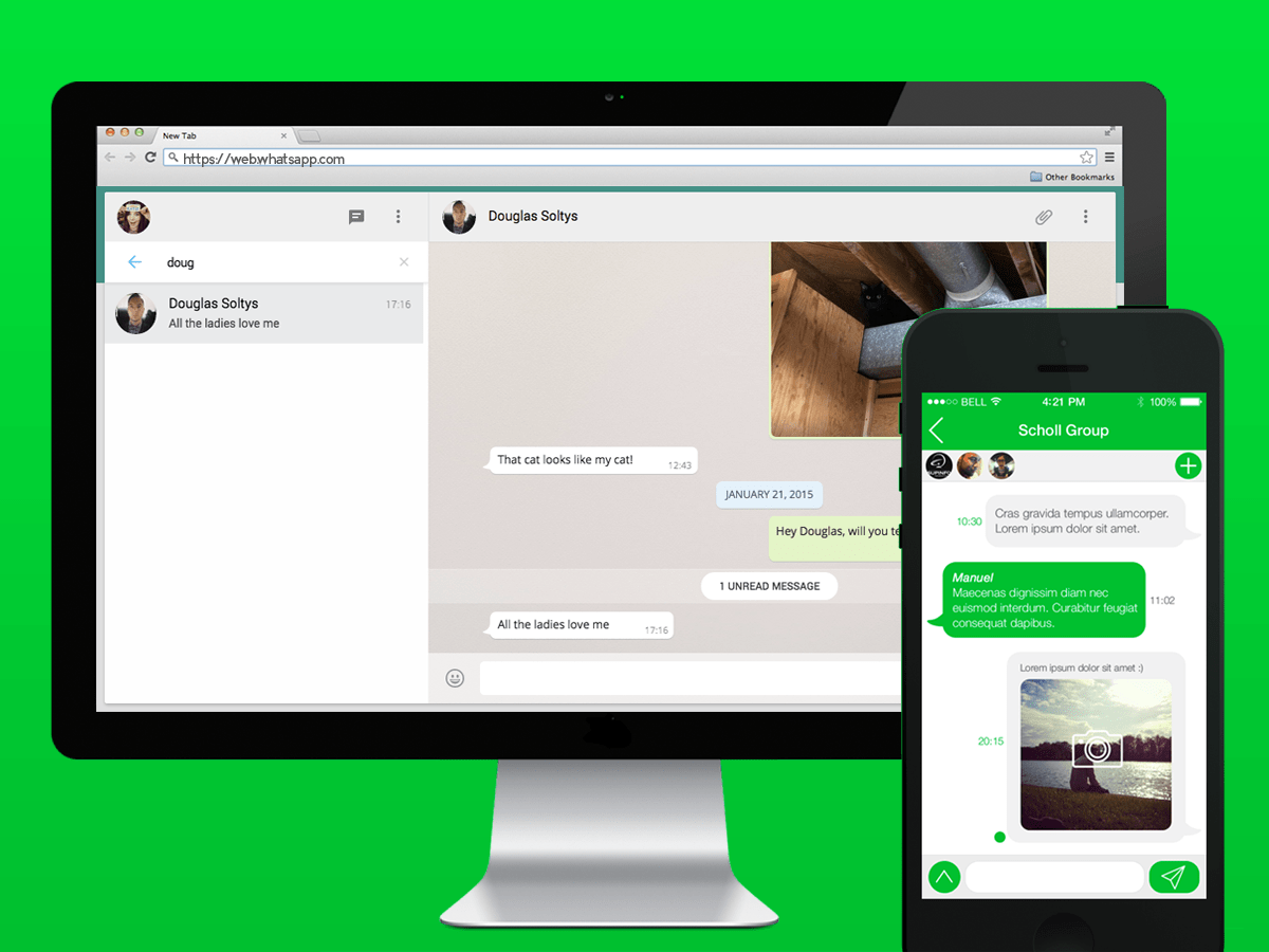 Ya puedes Descargar Whatsapp a tu PC y MAC