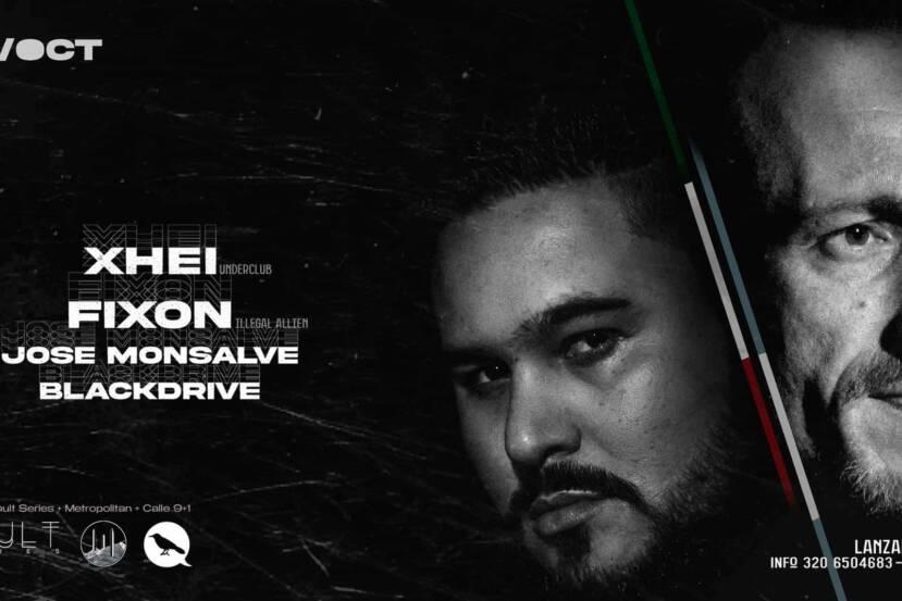 Default Series, Metropolitan & Calle 9+1 presentan a Xhei & Fixon éste Sábado 23 de Octubre