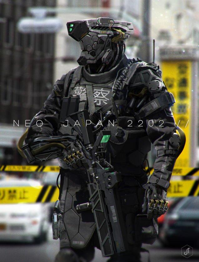 Japón en el 2202 es exactamente como te lo imaginas